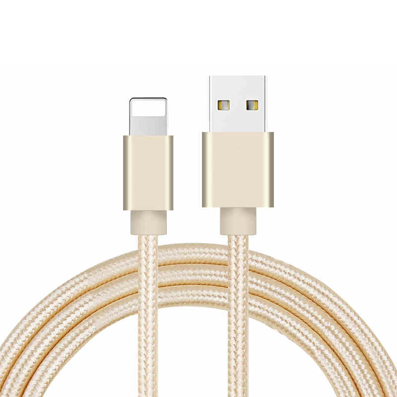 iphone braided data cable