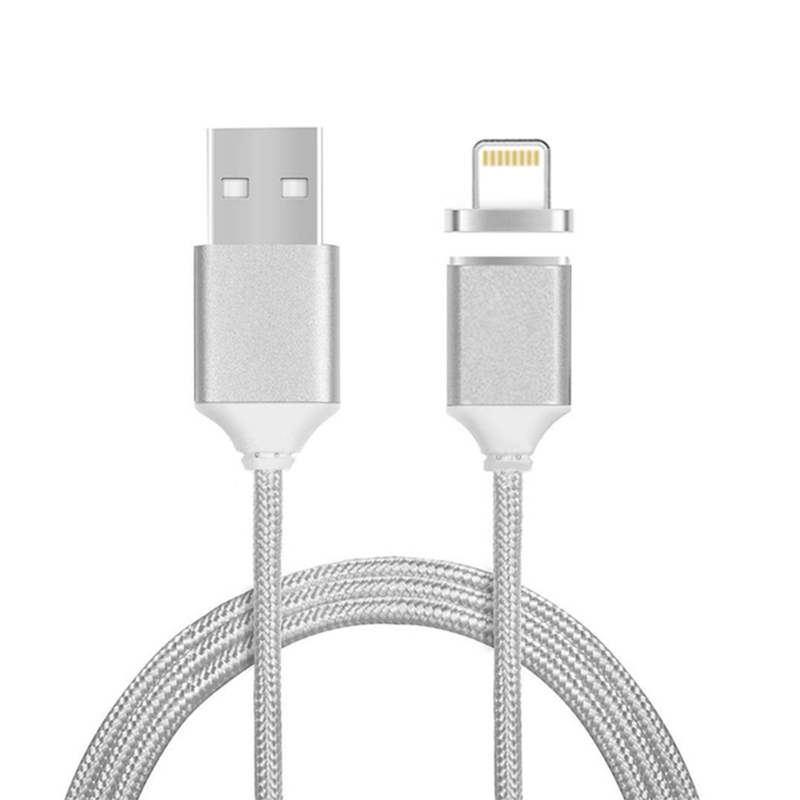 Magnetic data cable for iPhone