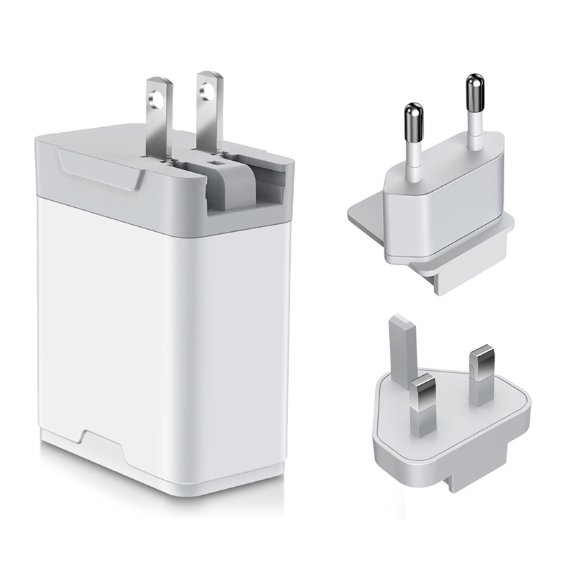 Convertible  plug travel charger