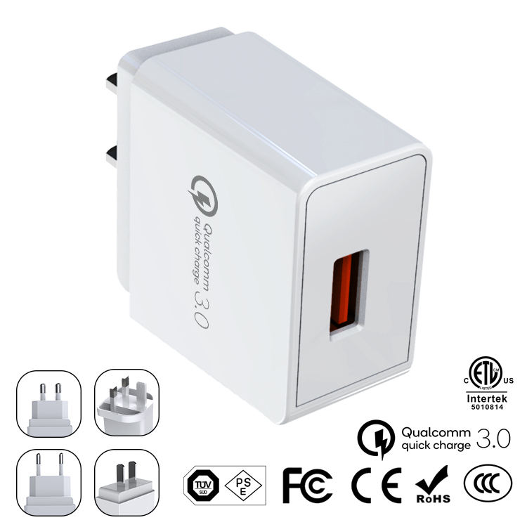 QC 3.0 18W Wall Charger