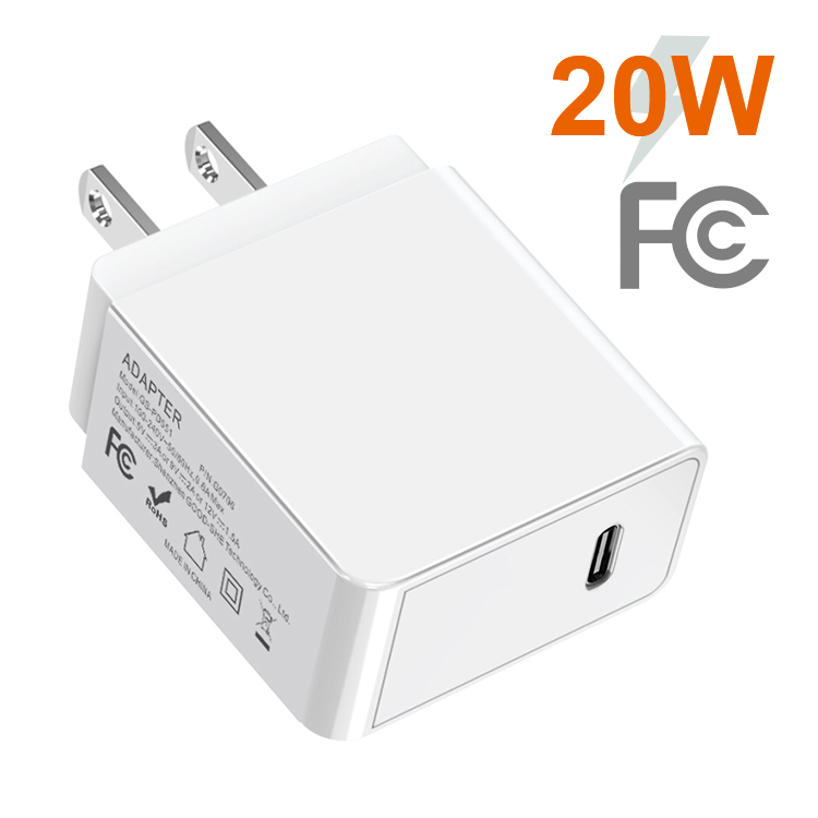 PD3.0 20W Wall Charger